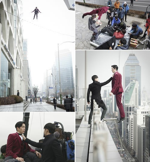 """""""Man from the Stars"""" Wire Scene"""