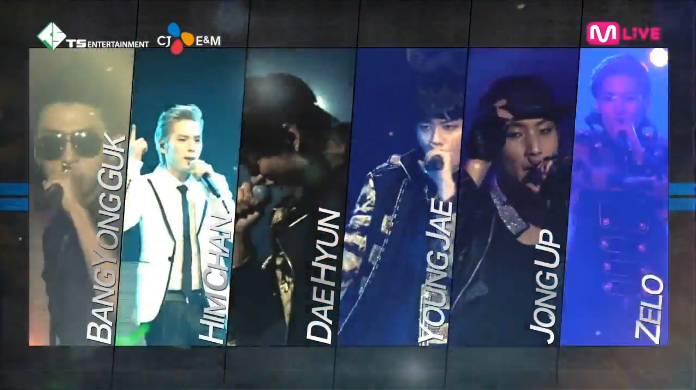 "B.A.P LIVE ON EARTH SEOUL 2014 ""Spot 30"""