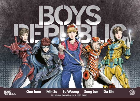 boys republic video game teaser pic