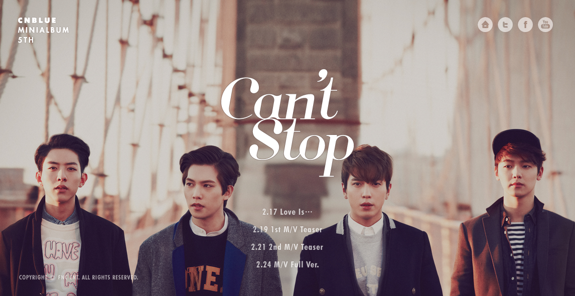 cnblue cant stop fnc website