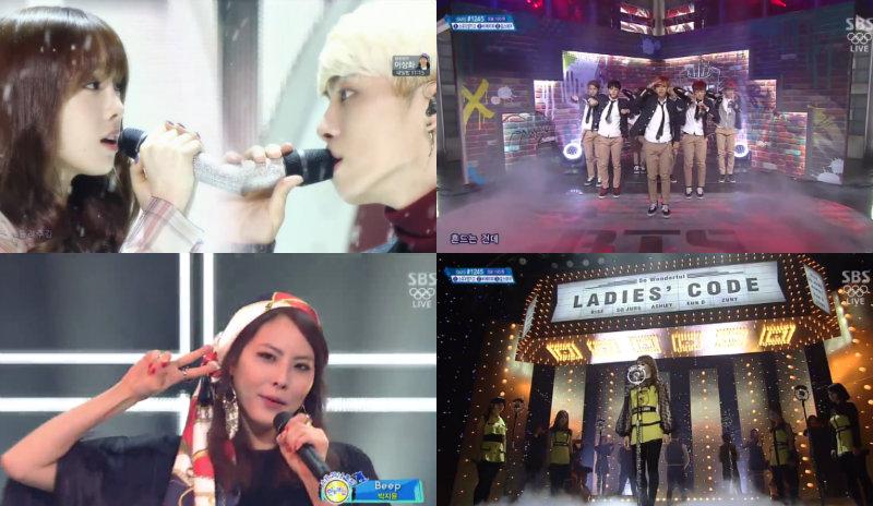 inkigayo 021614 soompi