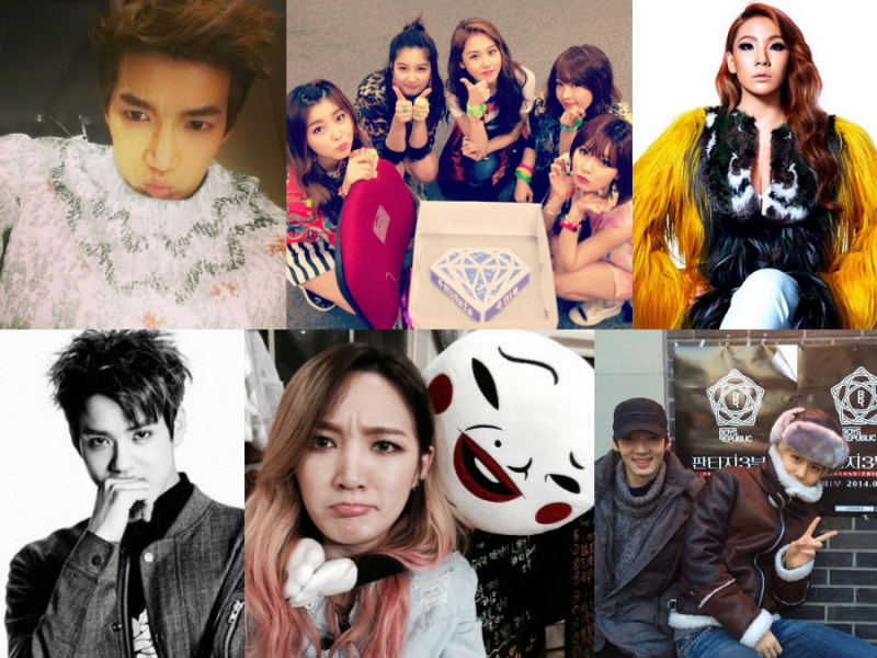 I Heart It: K-Pop Instagrams (Feb. 2 – 8)