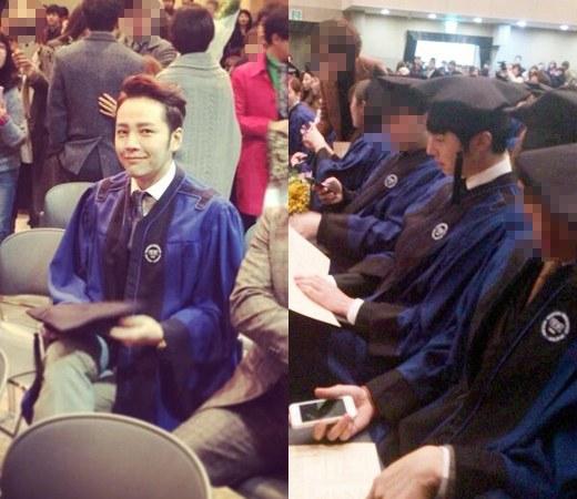 jang geun suk and jung il woo graduation