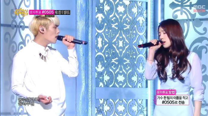 Taeyeon & Jonghyun