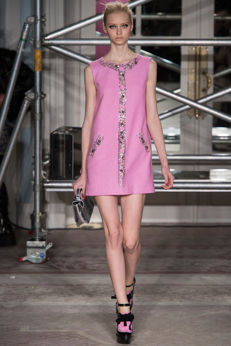 moschino cheap and chic fall rtw 2013