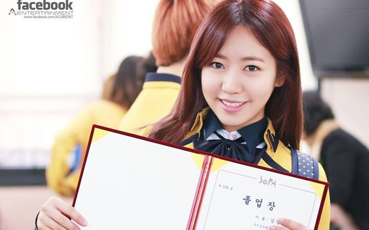 A Pink's Namjoo Has Graduated High School!