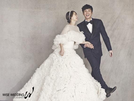 shim yi young choi won young wedding pictorial 1