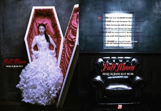 "Sunmi's ""Full Moon"" Album Features Yoobin, Ye Eun, GOT7's Jackson, and Brave Brothers"