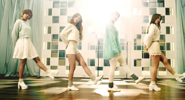 1PS Because I'm your girl mv