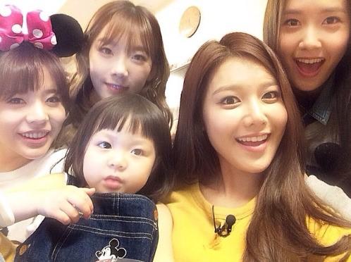Chu Sarang and Girls' Generation