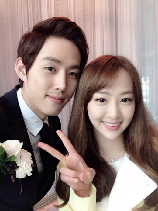 Dasom and Baek Sung Hyun