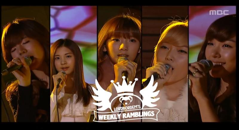 When K-Pop Idols Cover the Golden Classics