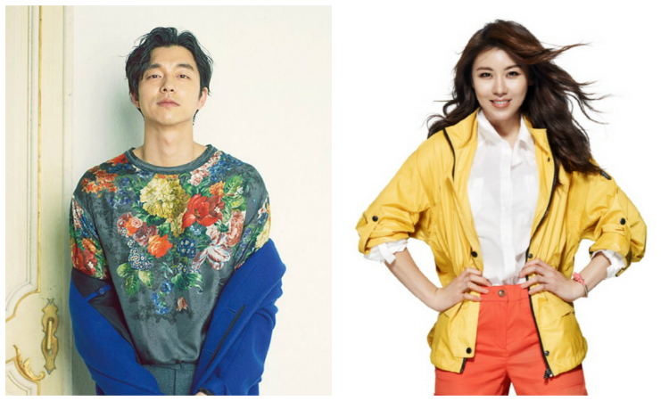 Gong Yoo and Ha Ji Won