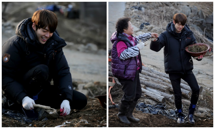 """The """"Real"""" Kim Woo Bin Surfaces on """"Four Sons and One Daughter"""""""