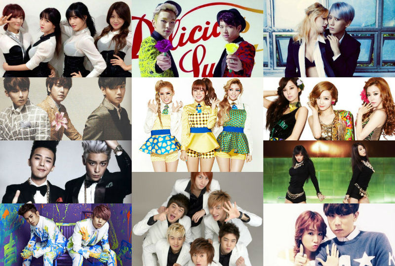 Top 11 K-Pop Collaborations or Project Units