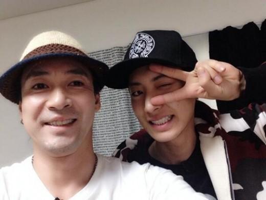 exo chanyeol shin sung woo roommate