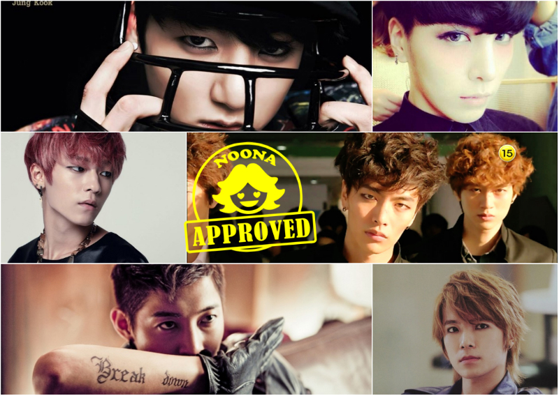 [Noona Approved] Idols Who Rock the Guy-Liner Part 2