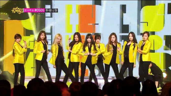 Girls Generation - Music Core 03.22.14