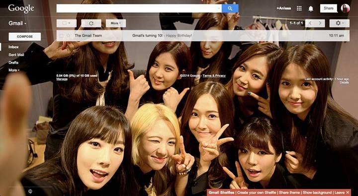girls generation gmail