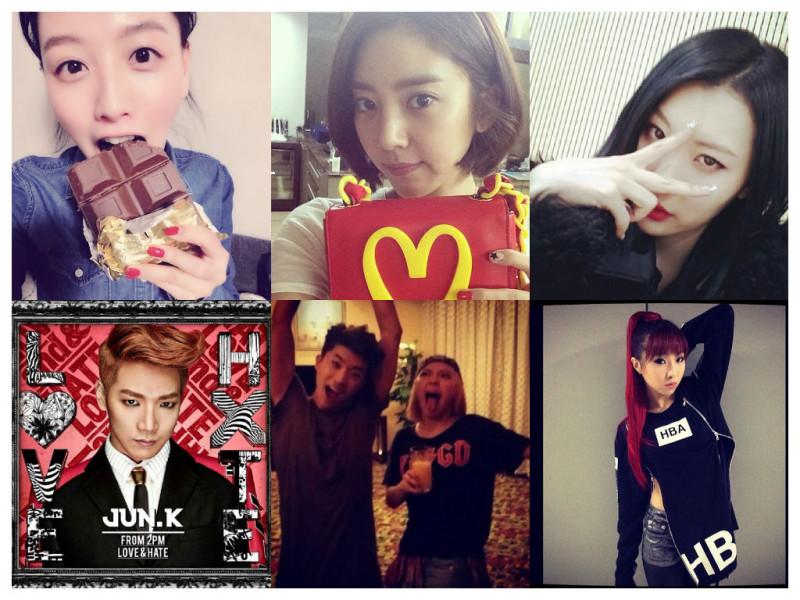 I Heart It: K-Pop Instagrams (Mar. 2 – 8)