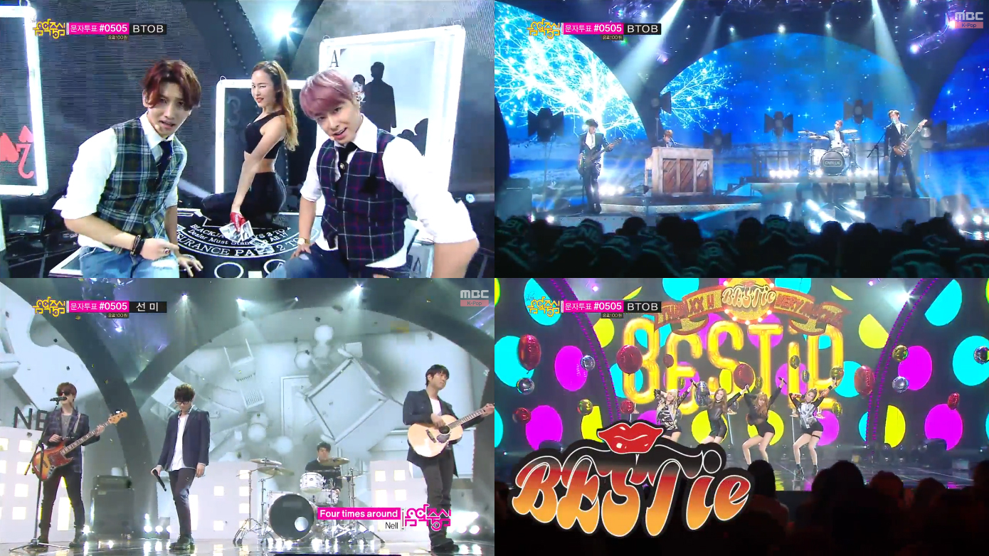 Music Core Comebacks 03.01.14