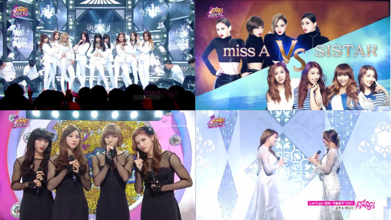 MBC Music Core 03.08.14 – 400th Episode Special