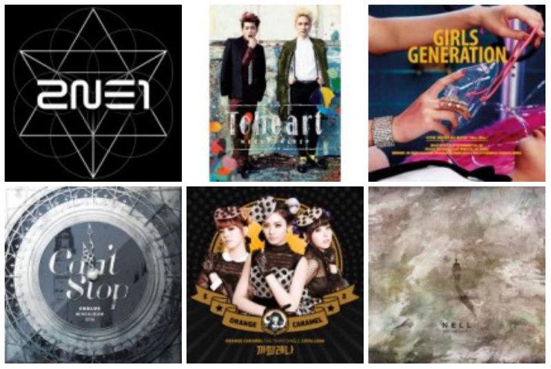 soompi weekly kpop music chart March week 5