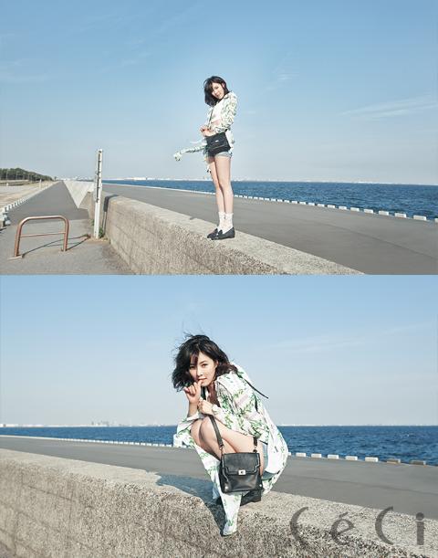 HyunA for Ceci