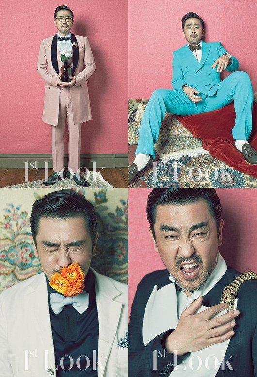 Ryu Seung Ryong pictorial