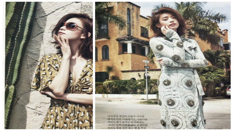 Han Hyo Joo Travels to Mexico for InStyle Pictorial