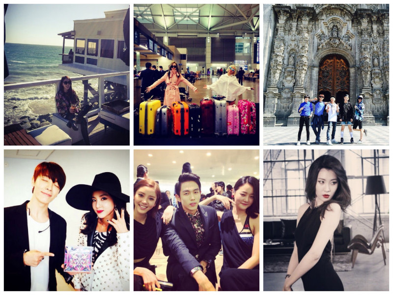 I Heart It: K-Pop Instagrams (Mar. 30 – Apr. 5)