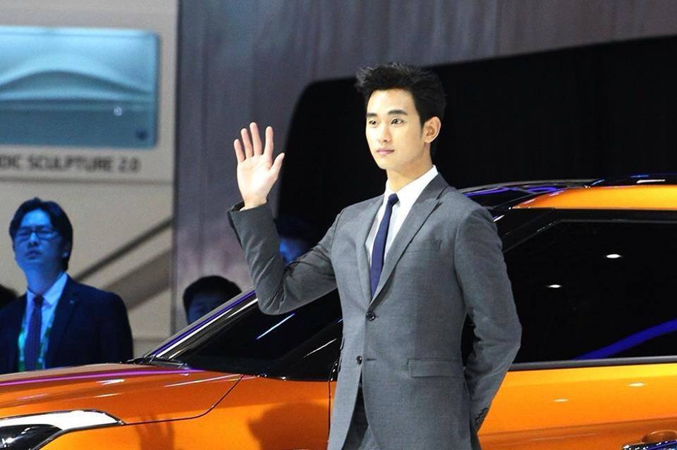 kim soo hyun beijing auto show 2014