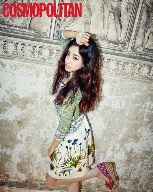 Jung Ryeo Won cosmo