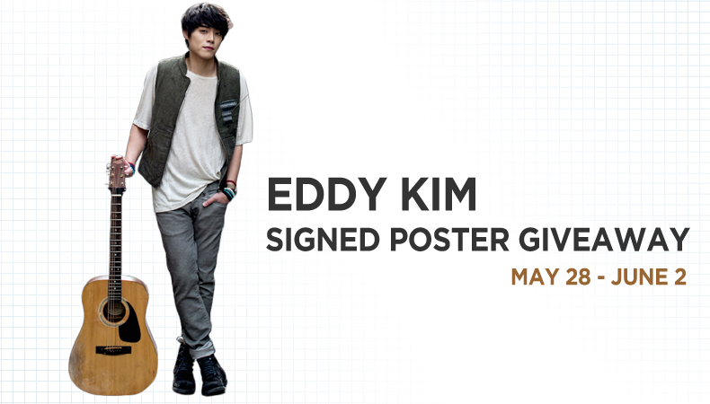 Eddy Kim Giveaway Article Banner