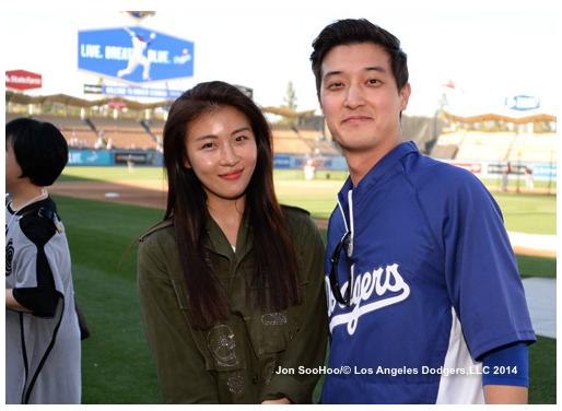 Ha Ji Won and Martin Kim