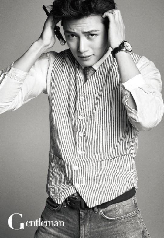 Ji Chang Wook for Gentleman 3
