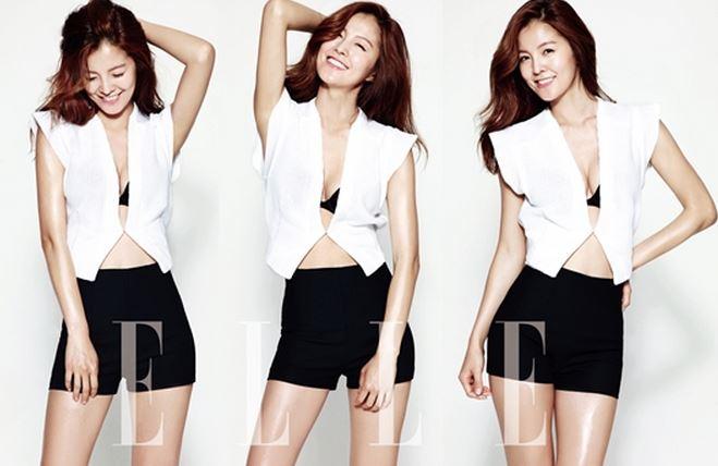 Kim Sung Eun for Elle