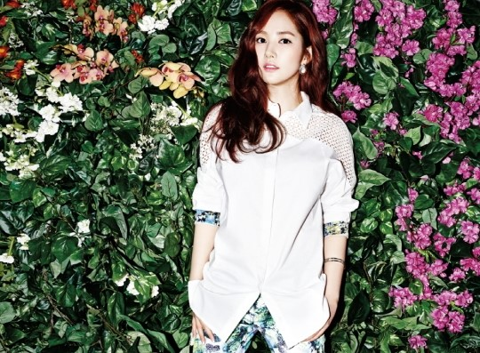 Park Min Young summer pictorial picture