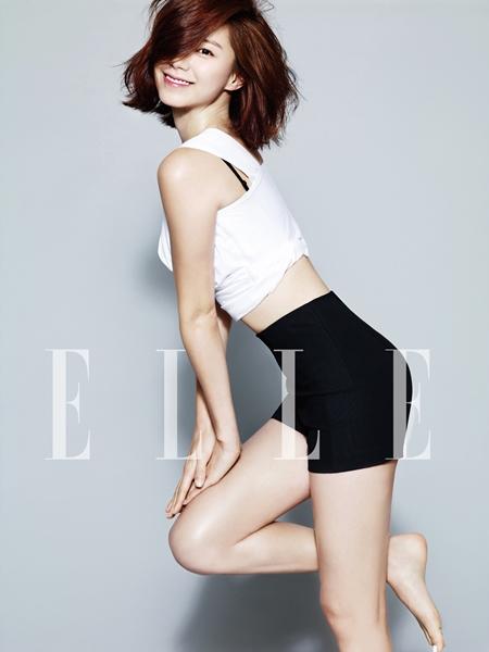 Park Soo Jin for Elle