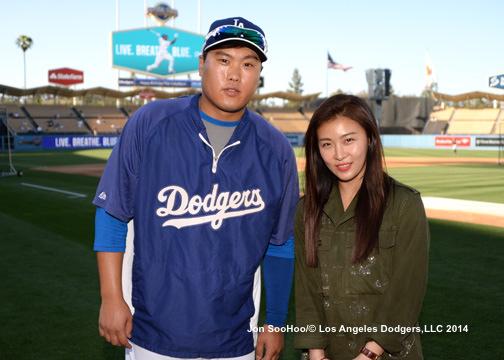 Ha Ji Won and Ryu Hyun Jin