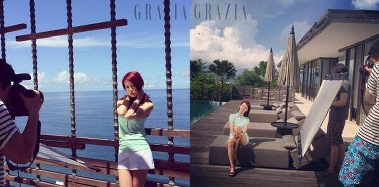 Song Ji Hyo Grazia Featured Image