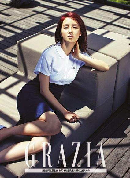 Song Ji Hyo for Grazia2
