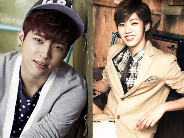 Sungyeol and Woohyun