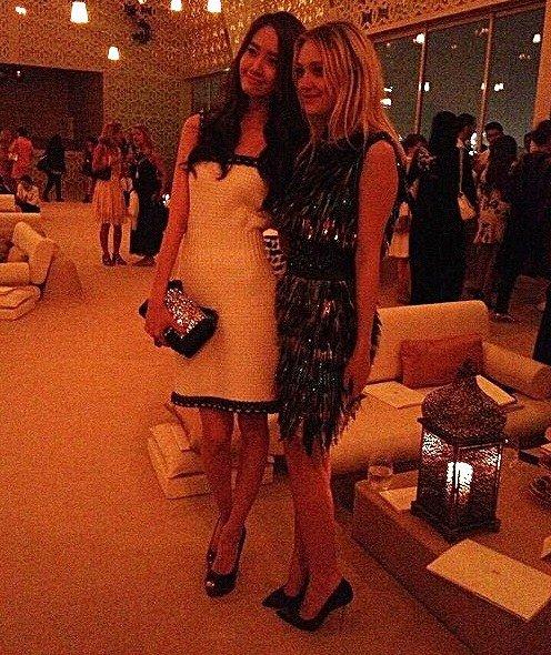YoonA and Dakota Fannin