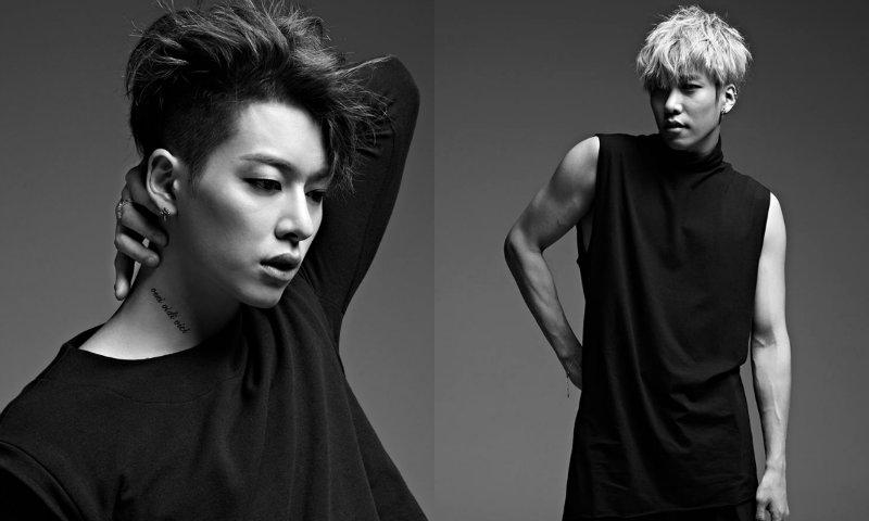 boyfriend hyunseong and donghyun