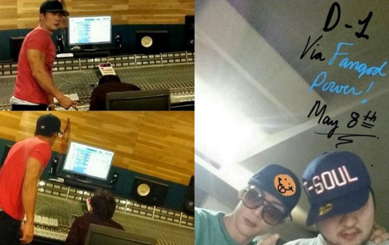 g.o.d recording