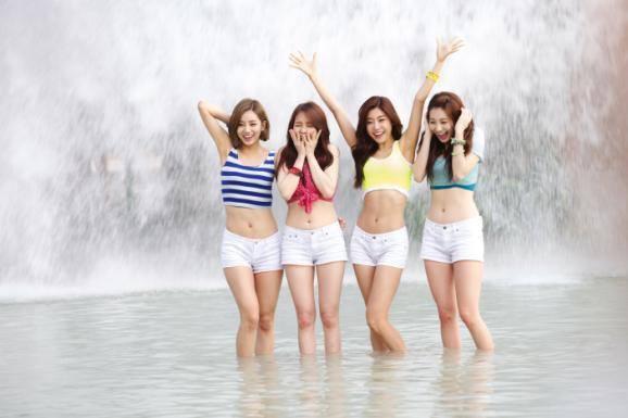 girls day waterpark