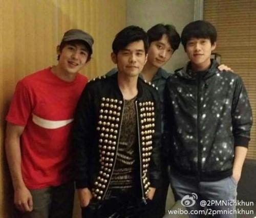 2PM Nichkhun Chansung Wei Da Xun Jay Chou