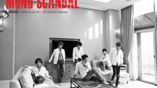 u-Kiss new mini album mono scandal teaser image
