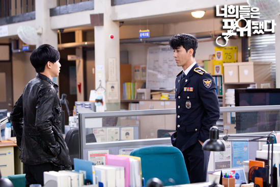 you're surrounded cha seung won lee seung gi